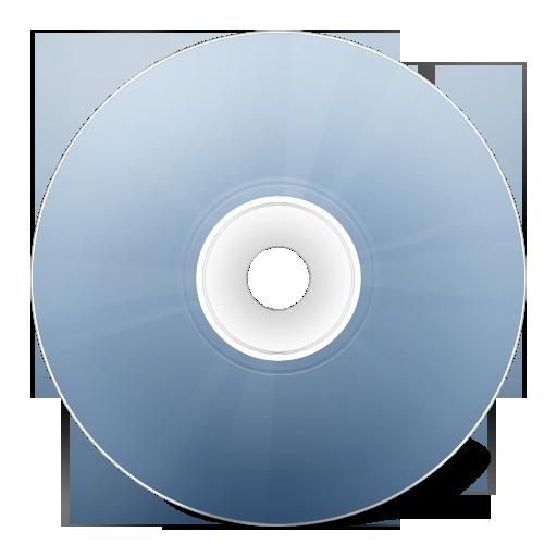 Иконка CD avant bleu, диск, болванка, размер 128x128 | id12823 ...