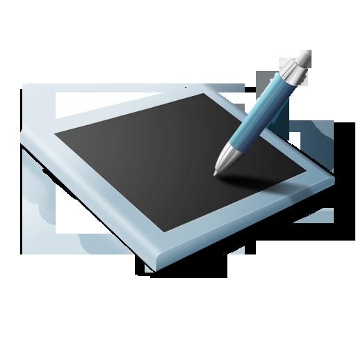 иконка tablette, планшет, графический планшет,