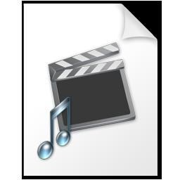 иконки Movie, music, file, мультимедиа, файл,
