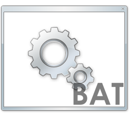 иконки bat, file,