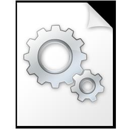 иконка settings file, файл конфигурации,