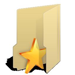 иконки Favourites Folder, избранное, папка,