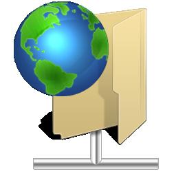 иконки NetFolder, папка, интернет,