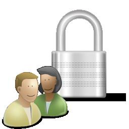 иконки Padlock User Control, пользователь, замок,