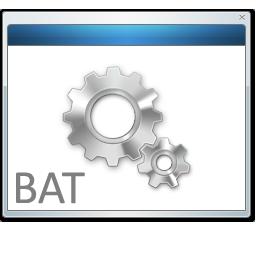 иконки BAT, File,  файл,