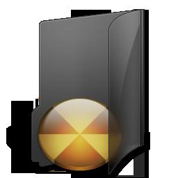 иконки Burn Folder, папка,
