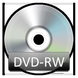 иконки DVDRW,