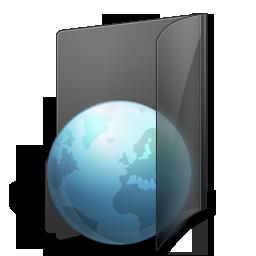 иконки Internet, Folder, папка, интернет,