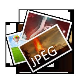 иконки JPEG, изображения, фотографии,