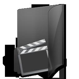 иконки My Videos, мое видео, мои видеозаписи, папка,