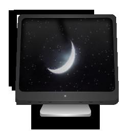иконки Sleeping Computer, заставка, спящий режим, компьютер, монитор,