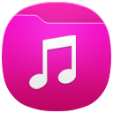 иконка music, музыка, папка,