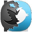 иконки Destroy twitter, твиттер,