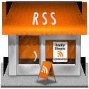 иконки rss, shop, магазин,
