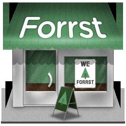 иконки forrst, shop, магазин,