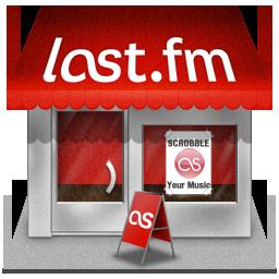иконки lastfm, last fm, shop, магазин,