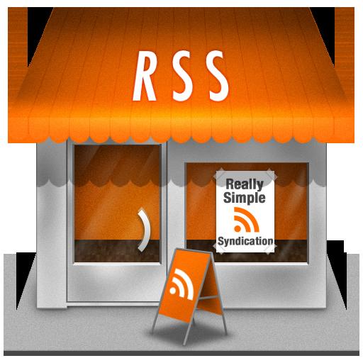 иконка rss, shop, магазин,