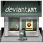 иконки deviantart, девиантарт, девиант, shop, магазин,