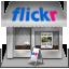 иконки flickr, магазин, shop,