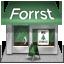 иконка forrst, shop, магазин,