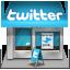 иконки twitter, твиттер, магазин, shop,