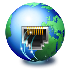 иконка connected, подключение, интернет, планета,