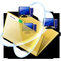 иконки network, folder, интернет, папка,
