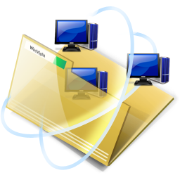 иконка network, folder, интернет, папка,