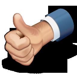 иконки thumbs up, большой палец вверх, хорошо,