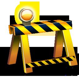 иконки under construction, заграждение, стройка, строительство,
