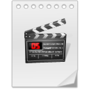 иконки Movie Blank, видео,
