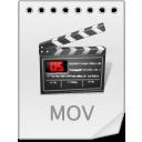 иконки MOV, видео, файл, формат,