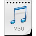 иконки M3U,