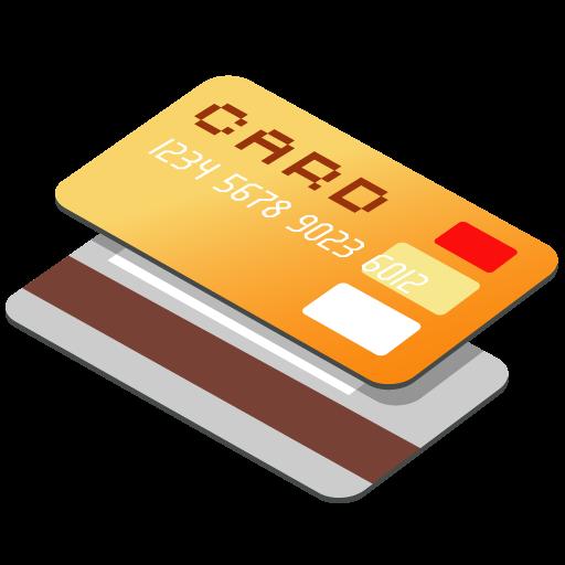 иконка credit card, кредитная карта, дебетовая карта,