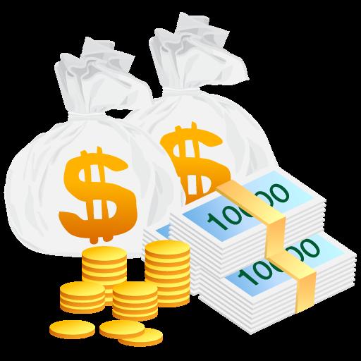 иконка money bag, мешок денег, деньги, money, богатство,