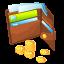 иконки purse, бумажник, кошелек, деньги, money,