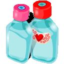 иконки bottles, бутылки, баночки,
