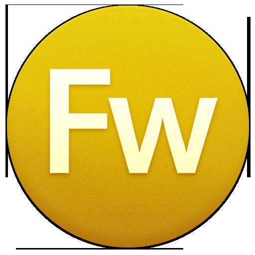 иконки fw, adobe, fireworks,