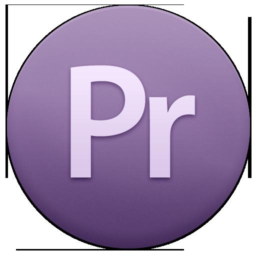 иконки pr, premiere pro, adobe,