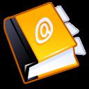 иконки Address book, контакты,