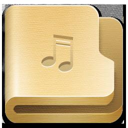 иконки folder music,  folder, моя музыка, папка,