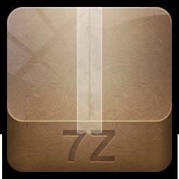 иконки 7z, архив,