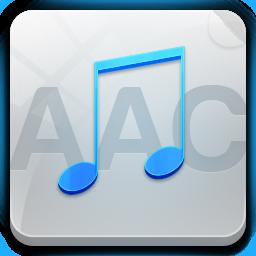 иконка aac, музыка,