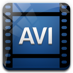 иконки avi, видео, файл, формат,