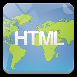 иконка html icon, html,