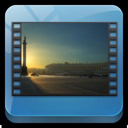 иконки library videos, библиотека видео,