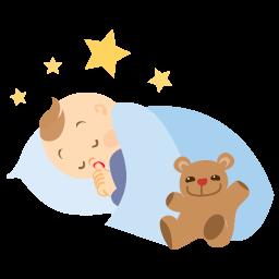 иконки sleeping, спит, спать, сон, ребенок, малыш,