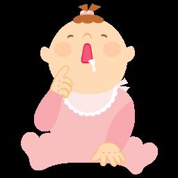 иконка vomit, слюна, ребенок, малыш, девочка,