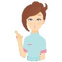 иконки beauty, consultant, attention, консультант, консультирование, девушка,