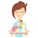 иконки  beauty consultant, products, консультант, товары, косметика, девушка, промоутер,